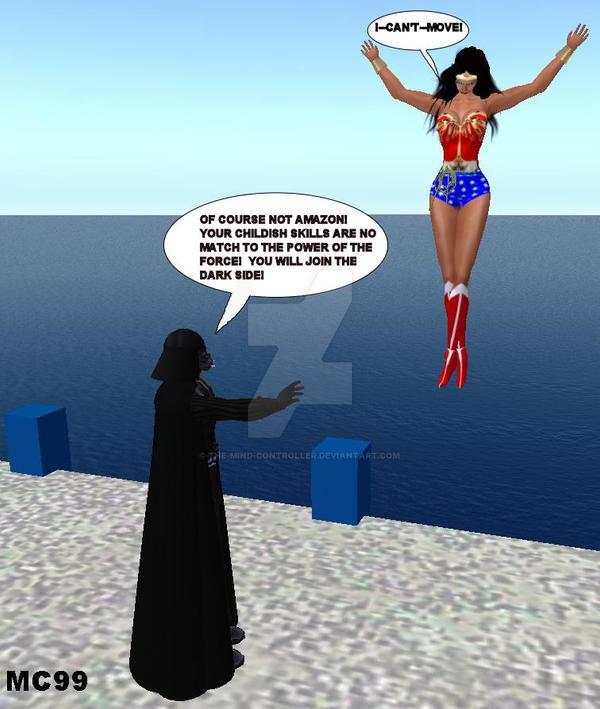 Wonder Woman Guro Darth Vader 60