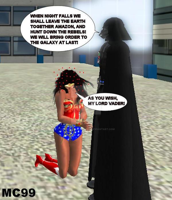 Wonder Woman Guro Darth Vader 99