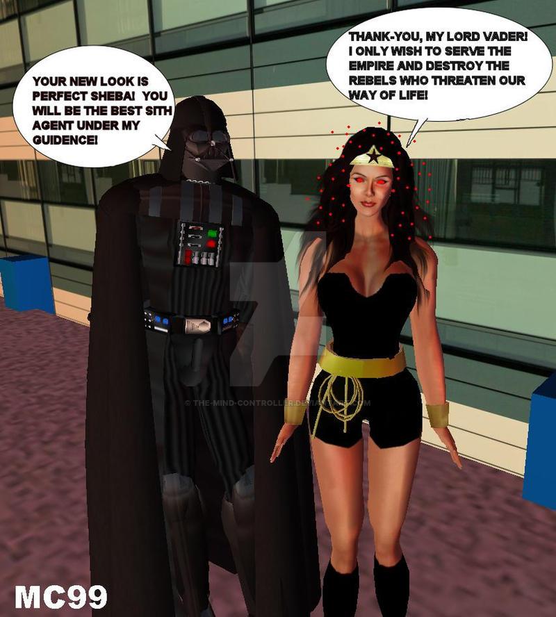 Wonder Woman Guro Darth Vader 21