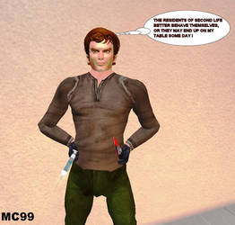 'DEXTER' In Second Life by The-Mind-Controller