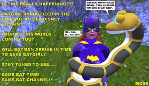 Kaa Traps Batgirl
