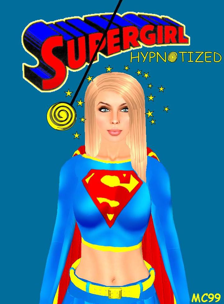 Supergirl Hypnotized by The-Mind-Controller