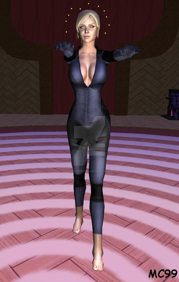Jill Valentine Hypnotized And Barefoot 2 by The-Mind-Controller