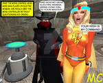Electra Woman Meets The Mind Controller
