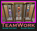Super Friends Defeated And Displayed