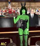 She-Hulk Hypnotized Bunny