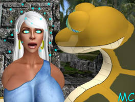 Rima Meets Kaa