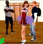 Dyna Girl The Hypnotized Cheerleader