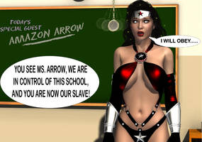Amazon Arrow Captured At The Hypnosis School by The-Mind-Controller