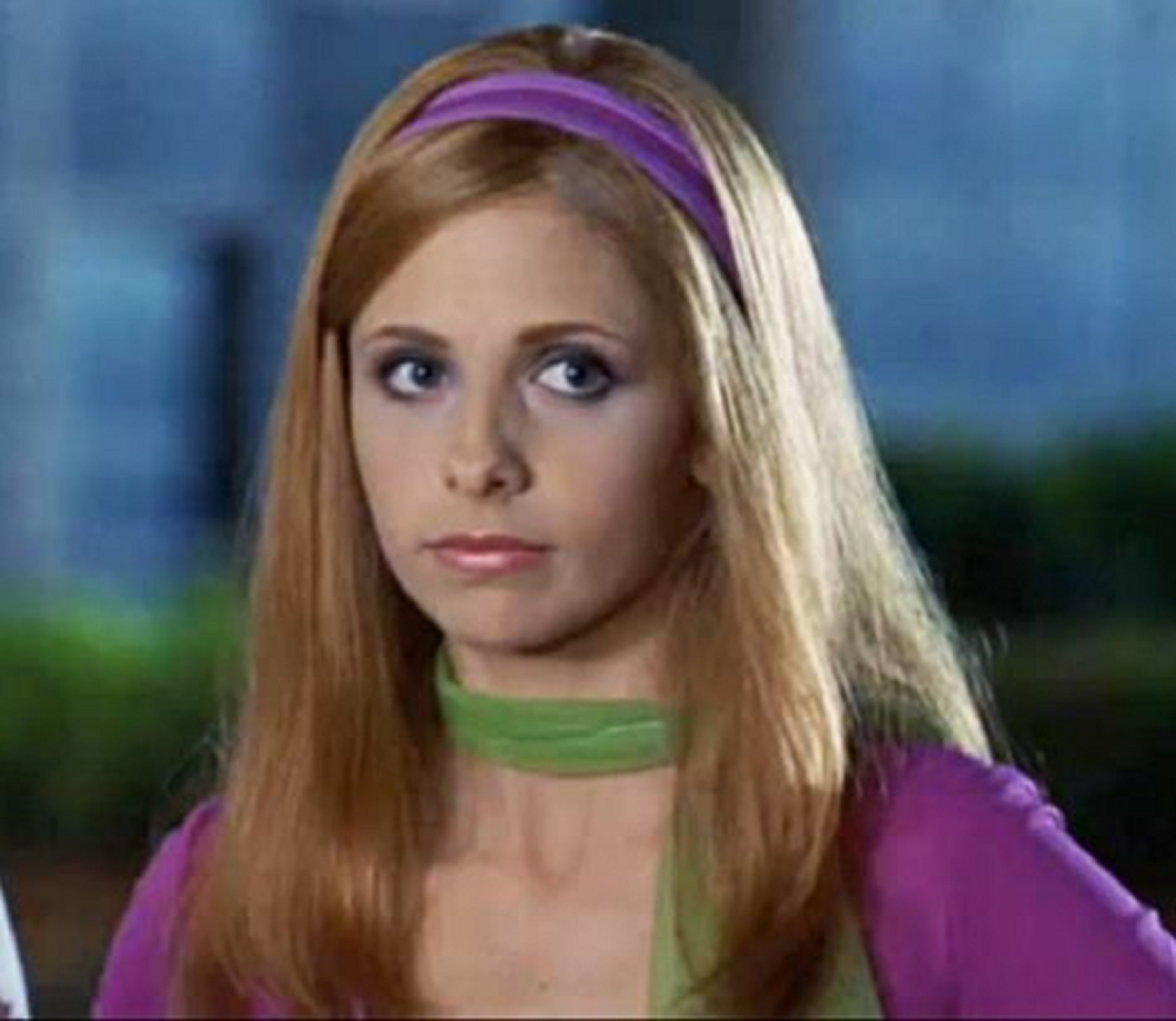 sarah michelle gellar as daphne by themindcontroller on