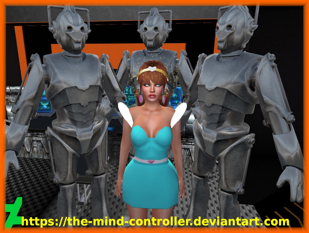 Kimberly Captured By Cybermen by The-Mind-Controller