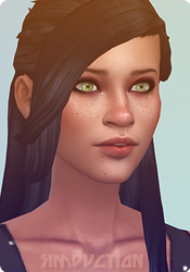 CC Hair Swatch Icon For Sims 4