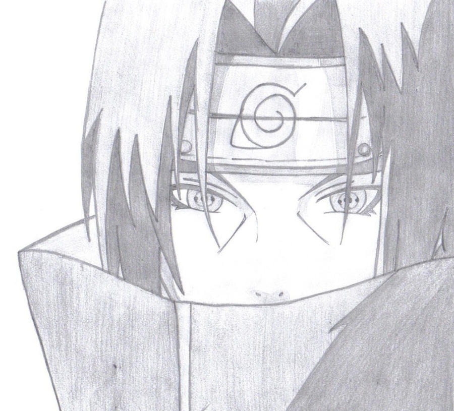 uchiha itachi by hp freak