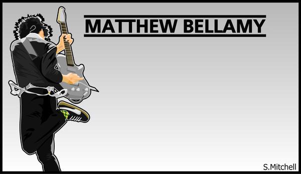 Matthew Bellamy by Stevonhondersmitt
