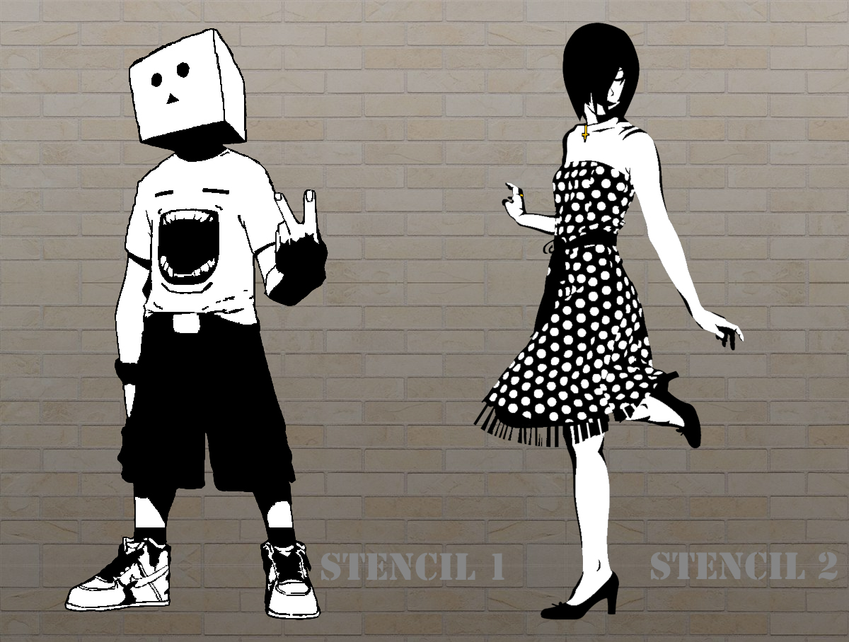 Stencil Graffiti Ideas