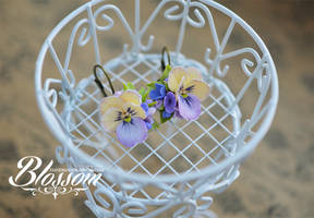 Pansy by BlossomHandmade