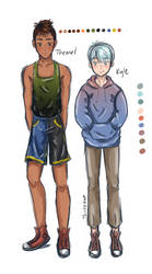 Kyle and Theonel by thistlekatt