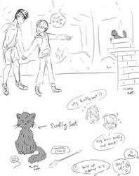 Introduction of Scruffy Soot by thistlekatt