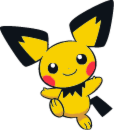 Shiny Pichu Dream World Art by TrainerParshen