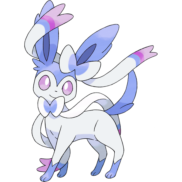Shiny Sylveon by TrainerParshen on DeviantArt