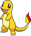 Shiny Charmander Dream World Art by TrainerParshen
