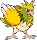 Shiny Spearow Dream World Art by TrainerParshen