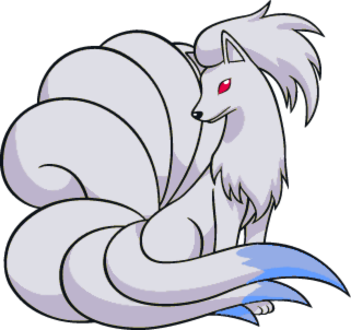 Shiny Ninetales Global Link Art by TrainerParshen