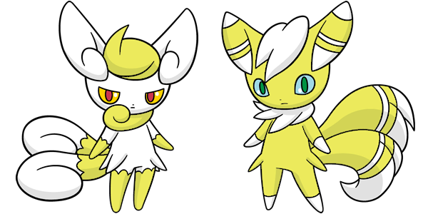 Shiny Meowstic Global Link Art by TrainerParshen on DeviantArt