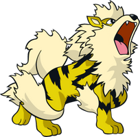 Shiny Arcanine Global Link Art by TrainerParshen