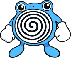 Shiny Poliwhirl Global Link Art by TrainerParshen