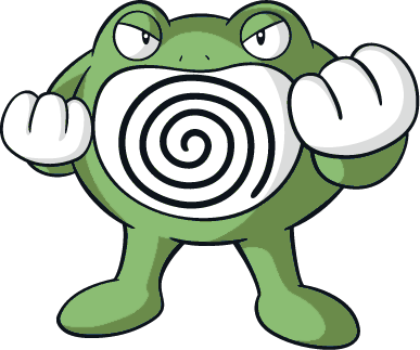 shiny poliwrath global link art by trainerparshen on