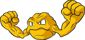 Shiny Geodude Global Link Art by TrainerParshen