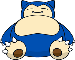Shiny Snorlax Global Link Art by TrainerParshen