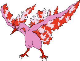 Shiny Moltres Global Link Art by TrainerParshen