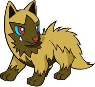 Shiny Poochyena Global Link Art by TrainerParshen