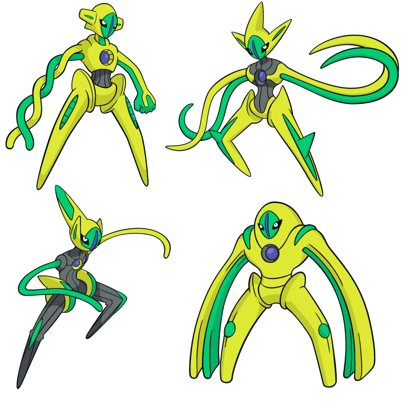 Shiny Deoxys Global Link Art by TrainerParshen on DeviantArt