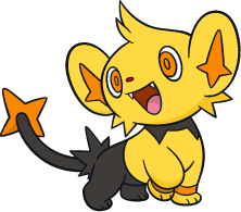 Shiny Shinx Global Link Art by TrainerParshen