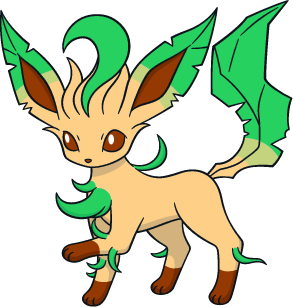 Shiny Leafeon Global Link Art by TrainerParshen on DeviantArt