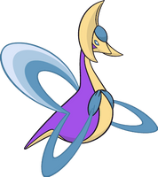 Shiny Cresselia Global Link Art by TrainerParshen