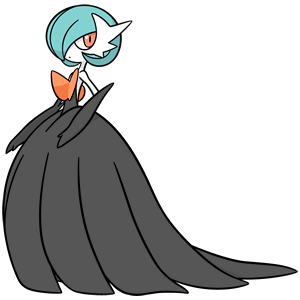 Shiny Mega Gardevoir Global Link Art by TrainerParshen