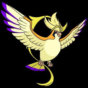 Shiny Mega Pidgeot Global Link Art by TrainerParshen on DeviantArt