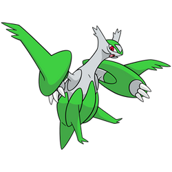Shiny Mega Latios Global Link Art by TrainerParshen