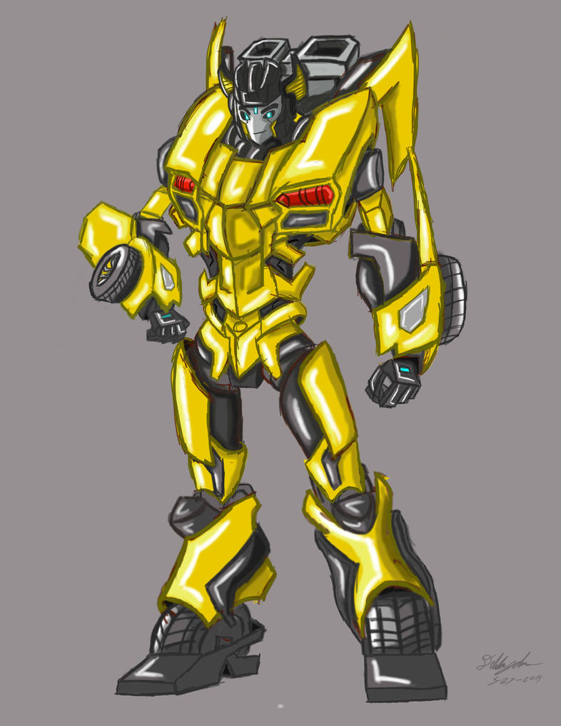TFP: Sunstreaker by ArtessZeroWolfSketch on DeviantArt