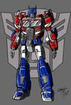 TFM Reboot Optimus Prime