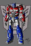 TFM reboot Optimus Prime update