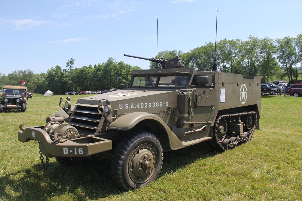 M-16 Carriage HalfTrack 1941 by JAFNOVA