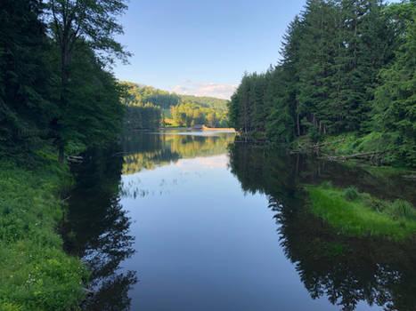 Single Bridge on Clear Lake