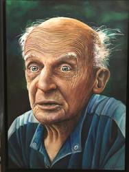Old man portrai