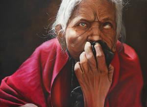 Blind Lady...