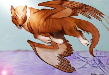 Flying Inook by Tsaag
